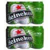 2 sixpacks Heineken